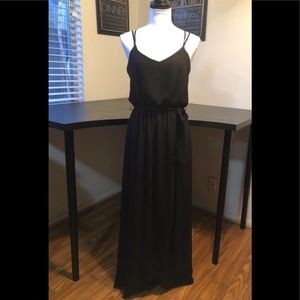 I.N. San Francisco Black Maxi Dress